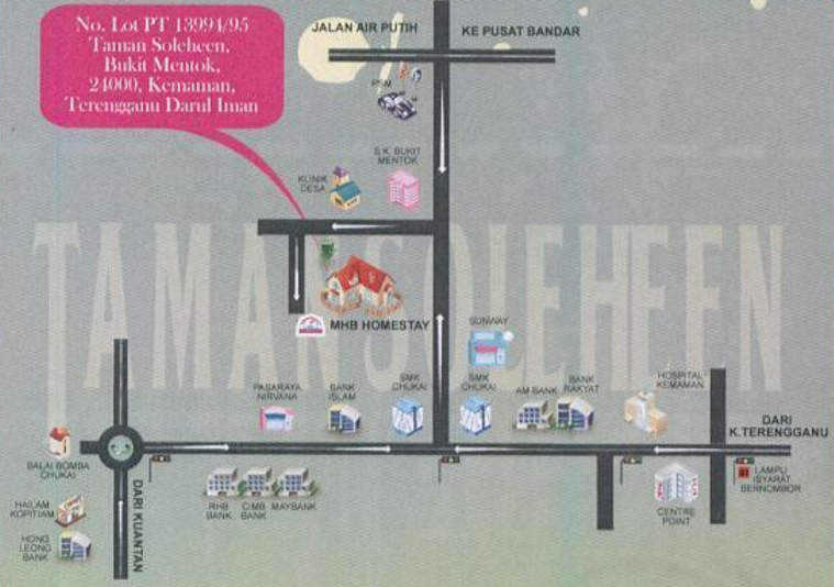 mhb homestay map 2